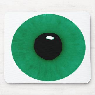Dark Green Eyeball Mousepad