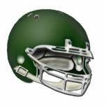 Dark Green Football Helmet Ornament
