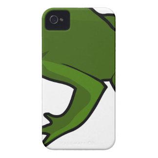 Dark Green Frog iPhone 4 Case