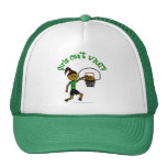 Dark Green Girls Basketball Mesh Hat