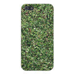 Dark Green Grass Texture Covers For iPhone 5