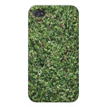 Dark Green Grass Texture iPhone 4/4S Cases