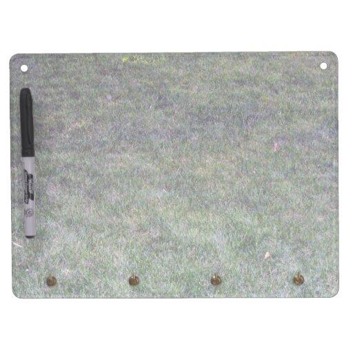 Dark Green Grassy Background Dry Erase Whiteboards