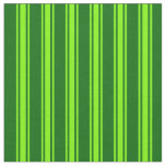 [ Thumbnail: Dark Green & Green Colored Pattern Fabric ]