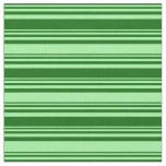 [ Thumbnail: Dark Green & Green Colored Striped/Lined Pattern Fabric ]