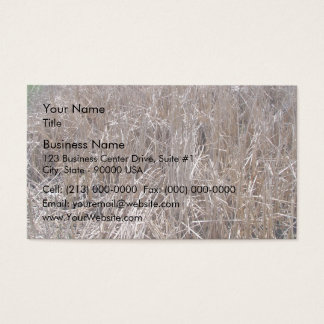 Dark Green Hedges Business Card