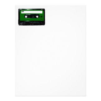 cassette letterhead custom cassette letterhead templates