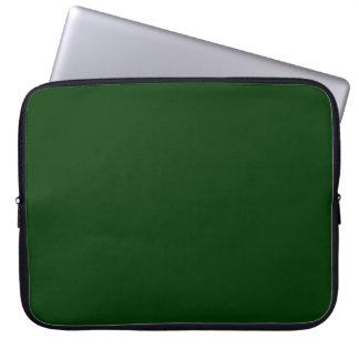 Dark Green Laptop Computer Sleeve