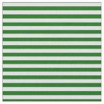 [ Thumbnail: Dark Green & Lavender Stripes/Lines Pattern Fabric ]