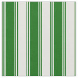 [ Thumbnail: Dark Green & Light Cyan Colored Lines Fabric ]