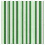 [ Thumbnail: Dark Green & Light Cyan Lined Pattern Fabric ]