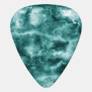 Dark Green Marble Texture Guitar Pick
