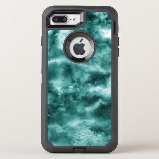 Dark Green Marble Texture OtterBox Defender iPhone 8 Plus/7 Plus Case