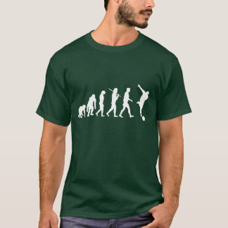 Dark Green Mens bowling shirt
