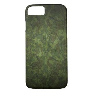 Dark Green Military Camouflage iPhone 7 Case