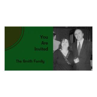 Dark Green Mod Party Invite