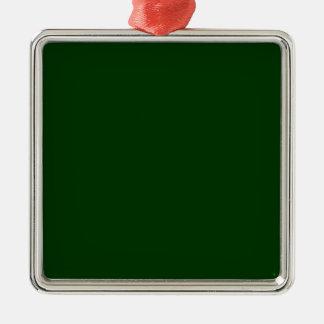 Dark Green Ornaments