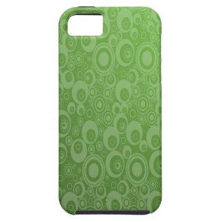 Dark Green Pattern iPhone 5 Cases