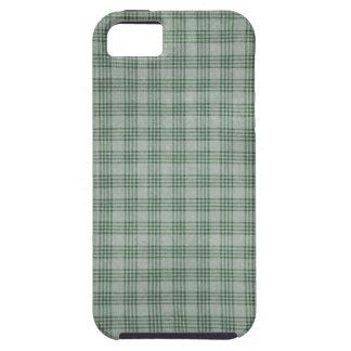 Dark Green Plaid iPhone SE/5/5s Case