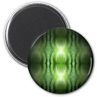 Dark Green Snake Skin Magnet