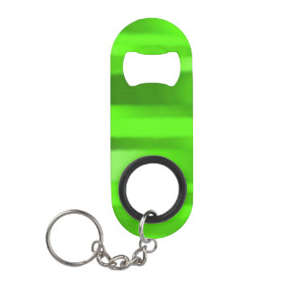 Dark Green Streak Mini Bottle Opener