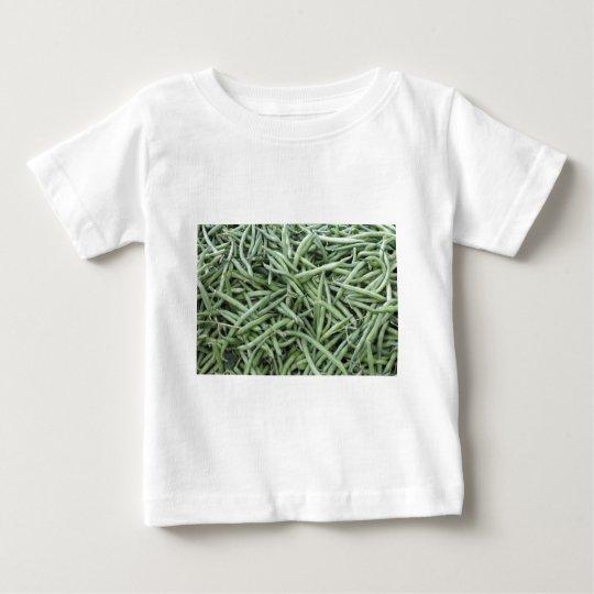 Dark Green String Beans Baby T-Shirt