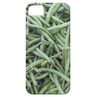 Dark Green String Beans iPhone SE/5/5s Case