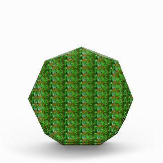 DARK Green Stripe Pattern : UNIQUE Energy GIFTS Awards