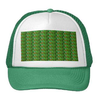 DARK Green Stripe Pattern : UNIQUE Energy GIFTS Trucker Hat