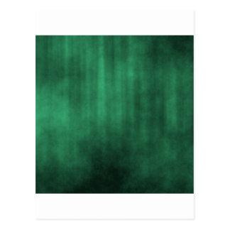 Dark Green Striped Grunge Design Post Cards