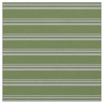 [ Thumbnail: Dark Grey and Dark Olive Green Colored Pattern Fabric ]