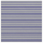 [ Thumbnail: Dark Grey and Midnight Blue Colored Pattern Fabric ]