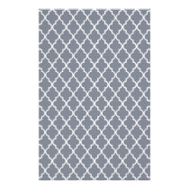Dark Grey And White Moroccan Trellis Pattern Stationery