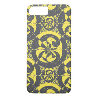 Dark grey and yellow iPhone 8 plus/7 plus case