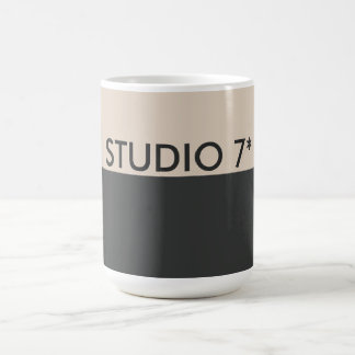 Dark Grey Beige Office Mug - Natural Series