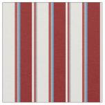 [ Thumbnail: Dark Grey, Brown, Light Cyan, Maroon & Blue Lines Fabric ]