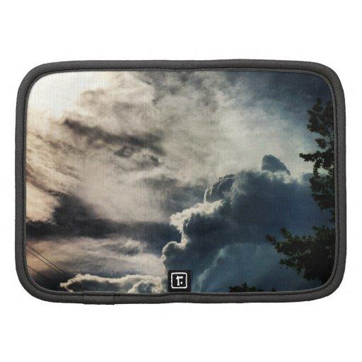 Dark Grey Clouds Planner