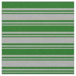 [ Thumbnail: Dark Grey & Dark Green Colored Pattern Fabric ]