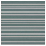 [ Thumbnail: Dark Grey & Dark Slate Gray Striped/Lined Pattern Fabric ]