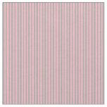 [ Thumbnail: Dark Grey & Light Pink Lined/Striped Pattern Fabric ]