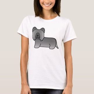Dark Grey Skye Terrier T-Shirt