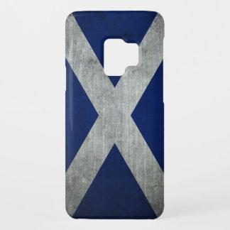 Dark Grunge Scotland Flag Case-Mate Samsung Galaxy S9 Case