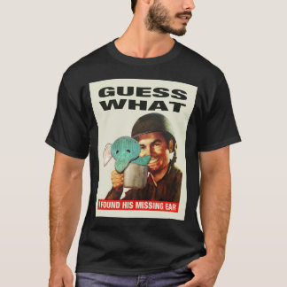 (Dark) Guess What WWII Poster Tee