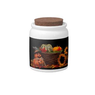 Dark Halloween Design Candy Dishes