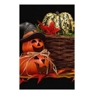 Dark Halloween Design Customized Stationery