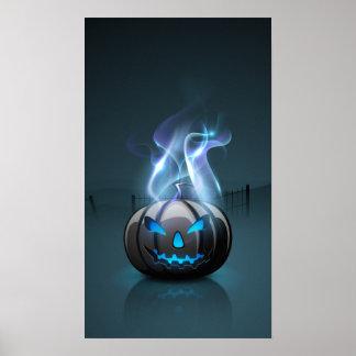 Dark Halloween Poster