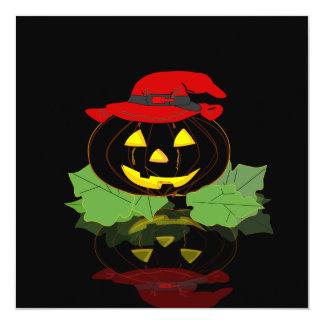 Dark Halloween Pumpkin Card