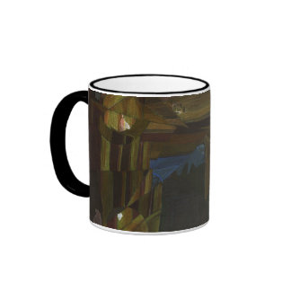 Dark Hallway Coffee Mugs