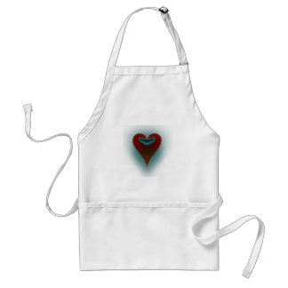 Dark Heart Adult Apron