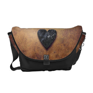 Dark Heart Courier Bag